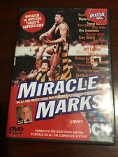 MIRACLE MARKS OFFICIAL AFL Good Condition DVD R ALL PAL