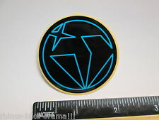 "1 7/8"" DIAMONDBACK Black (BMX Road MTB Mountain Bike Frame) Sticker Decal rbz"