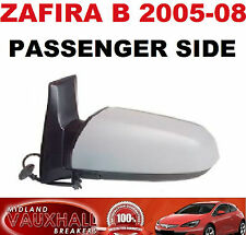 VAUXHALL ZAFIRA B MK2 ELECTRIC PRIMED WING DOOR MIRROR LH PASSENGER SIDE NEW