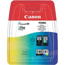 CARTUCCIA CANON MULTIPACK PG 540+CL 541 ORIGINALI MG4150 MG4250 MX395 MX535