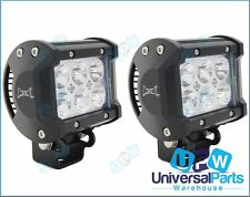 MAX 18 Watt CREE LED Spotlights Spot Light Ideal 4 Toyota Kluger Hilux 4x4
