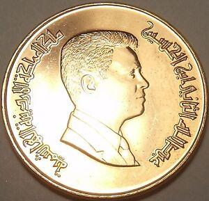 Gem UNC Jordan 2000 1 Qirsch (Piastre)~ King Abdullah II