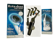 NEW NIB Rotadent One Step Professional Powered Flossing Electric Toothbrush USA