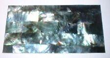 Natural Black Pearl Shell Laminate Sheet 8x4