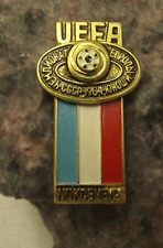 1984 UEFA European Football Championships Luxembourg Team Soccer Pin Badge