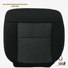 2004 2005 2006 Ford F-150 FX4 Driver Bottom Black Cloth Replacement Seat Cover