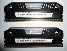 ✅✅ CORSAIR VENGEANCE PRO 16GB (2x8GB) Black DDR3 19200 2400 (CMY16GX3M2A2400C11)
