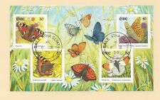 IRELAND  - 1265a - S/S - USED (FDC) - 2000 - BUTTERFLIES