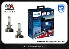 Philips Xtreme Ultinon h7 led 12V 25W coppia lampade auto lampadine 11972XUWX2