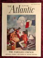 ATLANTIC June 1958 FRANCE Jean Cocteau Alice B Toklas James Thurber Marcel Ayme