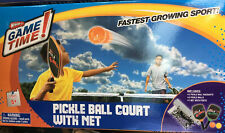 Wham-O Game Time Pickleball Court With Net Paddles and Balls