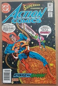Action Comics #528 1 Comic Book Lot DC Superman