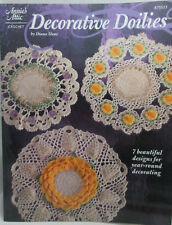 Annie's Attic Decorative Doilies Thread Crochet Patterns #875523