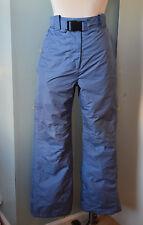 Trespass Snowboarding Ski pants women blue S 4 6 Excellent Coldheat insulated -