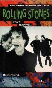 Rolling Stones Libro Y 'Solo Rock'N'Roll Nuovo