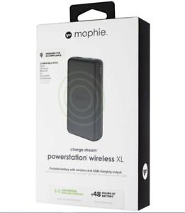 Mophie Charge Stream Powerstation Wireless XL (10,000mAh) - Black (401101510)