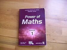 POWER OF MATHS Paper 1 Leaving Cert Higher Level educate.ie immaculate