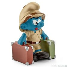 Smurfs - Jungle Explorer Smurf (Schleich) *NEW* 2016 - (20780)