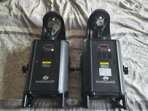 ADJ Inno Scan LED scanners 50 Watt. PAIR