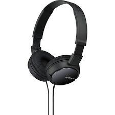 Sony MDR-ZX110 Black Powerful Comfortable Foldable Over Ear Headphones/Earphones