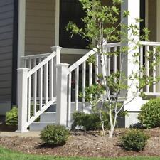 Veranda 6 ft x 36 in. White Traditional Stair Kit Diagonal Durable Rail *NEW*