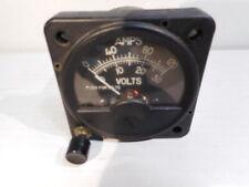 Vintage PIPER 601P AMP - VOLT GAUGE