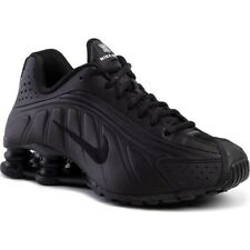 Nike Shox R4 (gs) Scarpe da Atletica Leggera Uomo Nero (black/black/black/whit