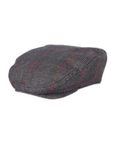 GYMBOREE VERY MERRY GREEN PLAID DRESSY DRIVING CAP HAT 5 6 7 8 10 12 NWT