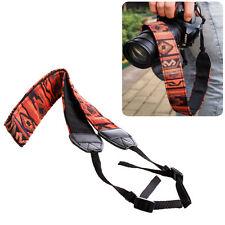 Vintage Camera Belt Strap Panasonic DSLR Pour DSLR épaule cou Canon Nikon Sony