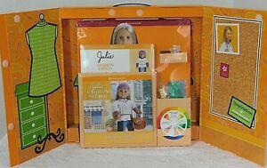 RETIRED 2010 American Girl FASHION STUDIO Paper Doll Design Art Kit- Julie & Joy