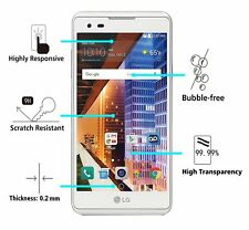 3Pcs Premium 100% Tempered Glass Screen Protector Film For LG Tribute HD / LS676