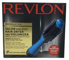 Revlon Salon One-Step Hair Dryer & Volumizer Pro Collection Blue RVDR5222BLU NIB
