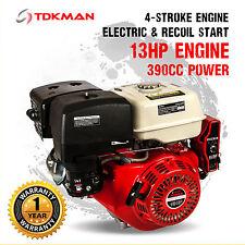 13HP Petrol Stationary Engine Motor 4-Stroke OHV Horizontal Shaft Replacement
