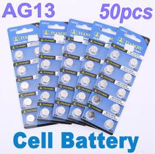 50 PCS Beobachten Kamera AG13 LR44 SR44 L1154 357 A76 Alkalische Knopf batterie