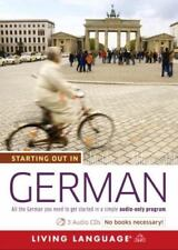 Starting Out in German, Living Language, Very Good Book