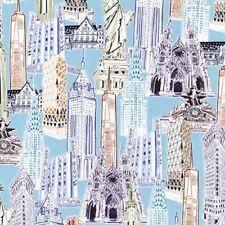 Dream Vacation New York City Robert Kaufman  AMF-16194-200 Vintage Cotton Fabric