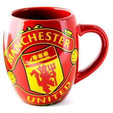 Manchester United FC Bañera De Té Café De Cerámica Taza en caja de regalo transparente Nuevo Navidad