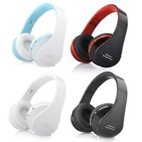 Wireless Foldable Headset Stereo Headphone Hands-free for iPhone PC