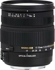 Sigma 17-70mm f/2.8-4.5 DC Macro HSM Optical Stabilized (OS) Lens for Canon EF