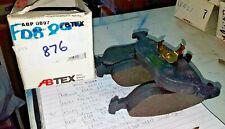 FOR VOLVO 400 440 460 480 BRAKE PADS ABTEX ABP0897 FDB897 LP876