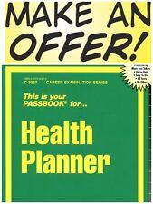 Health Planner Test Practice Passbook (Upcoming Exam) FREESHIP