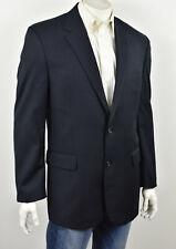 JOS A BANK SIGNATURE Navy Blue All-Season Herrigbone Classic Fit Suit Jacket 42L
