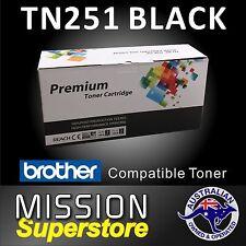 1x TN251BK BLACK Toner Cartridge for Brother MFC9140CDN MFC9330CDW MFC9340CDW