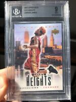 2003 Upper Deck City Heights Lebron James Redemption Card Rookie RC BGS 9 Mint