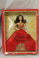 2014 HOLIDAY BARBIE BRUNETTE BDH35 NEW IN BOX