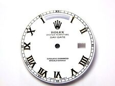 Rolex Mens Day-Date Yellow Gold WhiteColor Dial with Roman Numeral Markers Dials