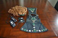 American Girl Nellie's Celtic Dance Costume