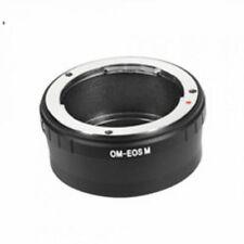 Olympus OM lente Canon EOS M2 EF-Mirrorless M Montaje de Cámara Adaptador Anillo M