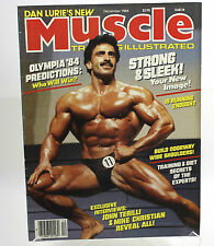 Muscle Training Illustrated Decembe 1984 Samir Bannout Cover