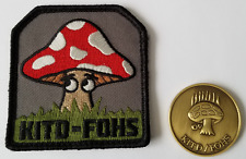 Lot of 2: CIA TICS KITD / FOHS Coin and Patch TRAINING IN CLANDESTINE SERVICE